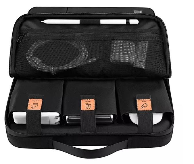 محفظه مخصوص کابل و شارژ کاور آلفا دابل 13.3 اینچ